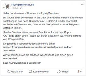 10% Rabatt FlyingMachines